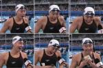 Biểu cảm kinh ngạc tột độ gây 'sốt' của nữ VĐV bơi lội Trung Quốc ở Olympic Rio