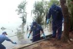 Một thi thể nữ giới biến dạng trôi dạt vào bờ biển Nghệ An