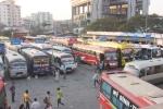 Trình phương án 'cấm' xe khách chạy xuyên tâm ở Hà Nội