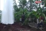 Thực hư hiện tượng giếng nước phun như vòi rồng ở Bà Rịa - Vũng Tàu