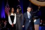 Con gái út nhà Obama ở đâu khi cha phát biểu chia tay Nhà trắng?