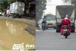 Ảnh: VTC News phản ánh, đường 'tử thần' ở Hải Phòng có diện mạo mới