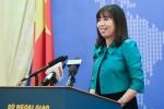 Việt Nam phản ứng trước phát biểu củng cố các thực thể chiếm đóng trên Biển Đông của Tổng thống Philippines