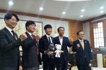 Lương Xuân Trường làm Đại sứ tỉnh Gangwon, trở thành cháu nuôi Thống đốc