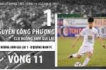 Công Phượng bỏ lỡ cơ hội đáng tiếc nhất vòng 11 V-League 2017