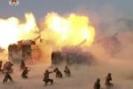 Triều Tiên công bố video buổi tập trận bắn đạn thật lớn nhất lịch sử