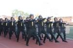 Duyệt binh hoành tráng trong lễ khai giảng Học viện An ninh nhân dân