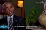 Clip: Obama tập dượt phỏng vấn xin việc sau khi rời Nhà Trắng