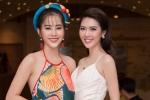 Hoa hậu Tường Linh khoe ba vòng quyến rũ, đọ sắc với Nam Em trên thảm đỏ