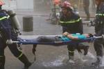 Hơn 2.000 người diễn tập chữa cháy tại tòa nhà cao nhất TP.HCM