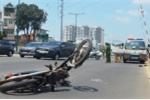 Cố tình vượt đường ray, ô tô hất văng thanh niên điều khiển xe máy