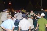 Trăm cảnh sát bảo vệ trung tâm cắt cơn nghiện