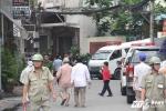 Nổ súng tại trụ sở phường ở TP.HCM: Camera ghi hình một người đàn ông