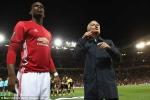 Pogba bị nhắc sai chiến thuật, Mourinho nổi giận quát trợ lý