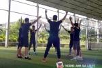 Video: Dàn sao nhà bầu Đức nhảy aerobic cực chất