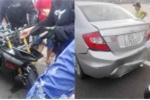 Đua môtô phân khối lớn gây tai nạn ở Bình Thuận