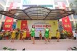 Học sinh tiểu học đánh trống hội, nhảy dancesport trong lễ khai giảng