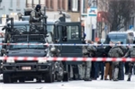 Hiện trường xe bọc thép bao vây 4 kẻ bắt cóc ở Bỉ