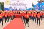 Tuổi trẻ Thái Nguyên nhảy flashmob ra quân tình nguyện hè 2015