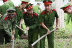 Gần 1.400 sinh viên Học viện Cảnh sát hào hứng dọn vệ sinh môi trường