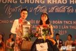 Hinh anh Nam vuong CD Canh sat nhan dan I dien trai, dan organ dieu luyen