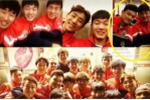 Xuân Trường vui tính trong mắt đồng đội đặc biệt ở Gangwon