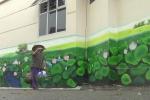 Cận cảnh đường bích họa dài 200m, hoành tráng nhất ở Hà Nội