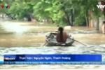 Thành phố Yên Bái ngập thành sông, nhiều người thiệt mạng, mất tích