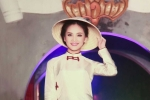 'Nàng thơ' Tố Như tiếp tục làm vedette trong màn trình diễn áo dài Lan Hương