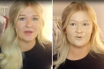 Cô gái xinh đẹp thử đắp 100 lớp kem nền lên mặt và cái kết đáng sợ