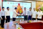 Trưởng Ban Tuyên giáo Trung ương Võ Văn Thưởng thăm và chúc mừng VOV