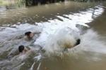 Tìm thấy thi thể 3 nữ sinh đuối nước ở Trà Vinh