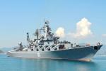 Tuần dương hạm tên lửa Nga cập cảng Cam Ranh