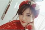 Hot girl Tú Linh MU xinh đẹp rạng rỡ trong lễ ăn hỏi