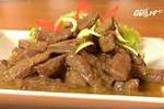 Cách làm món thịt bò nấu vỏ cam ngon và lạ miệng