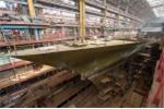 Bên trong xưởng đóng tàu chiến hải quân Nga