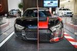 Kỳ lạ Siêu xe Audi R8 'cưa đôi' độc nhất vô nhị