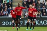 Trực tiếp Swansea vs Manchester United