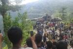 Xe buýt lao xuống sườn đồi, gần 70 người thương vong