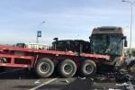 Xác định nguyên nhân tai nạn liên hoàn trên cao tốc Long Thành khiến 18 người thương vong