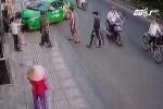 Tài xế taxi đâm ô tô vào tên cướp có sai luật?