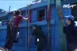 Tàu Trung Quốc uy hiếp, đâm hỏng tàu cá ngư dân Quảng Ngãi