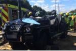 Gặp tai nạn thảm khốc, sao Crystal Palace thoát chết thần kỳ