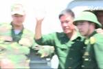 Hình ảnh mới nhất về phi công thoát chết vụ Su-30MK2 gặp nạn