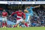 Trực tiếp Ngoại hạng Anh: Man City vs Middlesbrough
