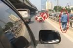Clip 15 giây tố cáo 4 lỗi vi phạm giao thông cùng một địa điểm