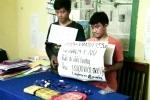 Bắt 2 đối tượng người Lào, trong túi xách chứa  17.000 viên ma túy