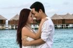 Phan Anh và vợ 'trốn' 3 con, sang Maldives kỷ niệm 17 năm bên nhau