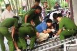 Nổ lớn trước cửa doanh nghiệp nghi do gài mìn, ông chủ bị thương nặng
