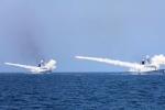 Trung Quốc tập trận bắn đạn thật sau vụ phóng tên lửa Triều Tiên